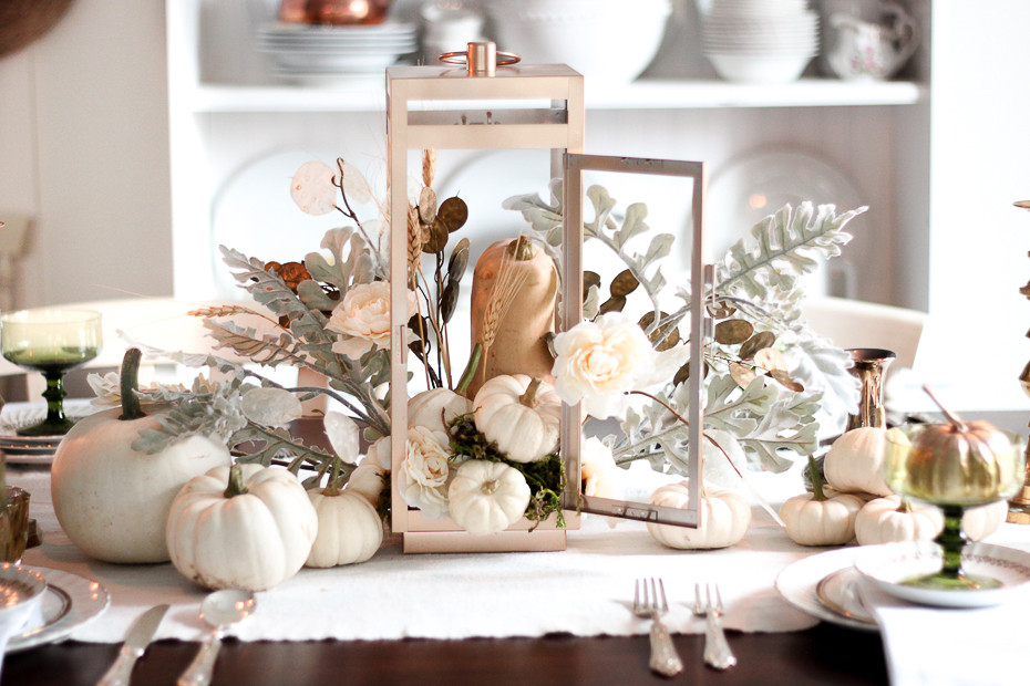10 quick and easy white pumpkin decor ideas craft mart for Decor quick