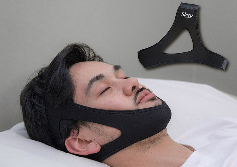 Anti -snoring chin straps
