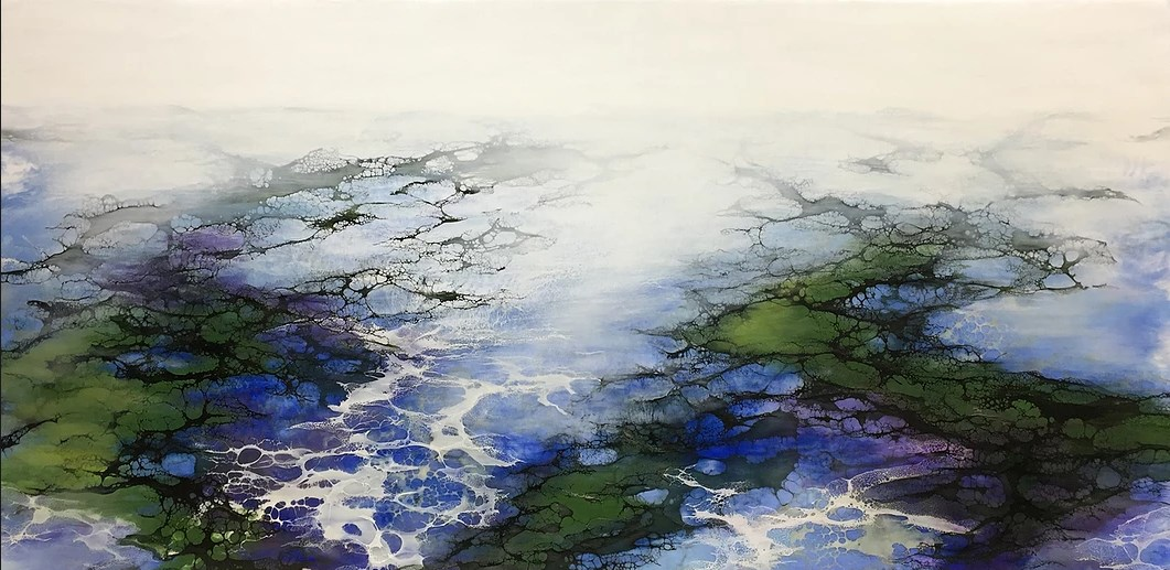 Encaustic painting - an ancient alternative to acrylic pouring
