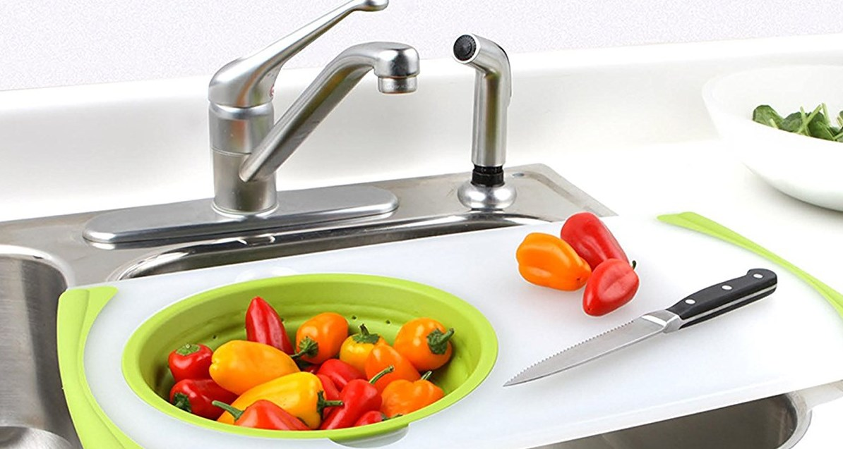 Kitchen Gadgets: strainer board