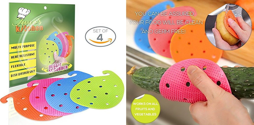 kitchen dishes scrubber sponges brushes