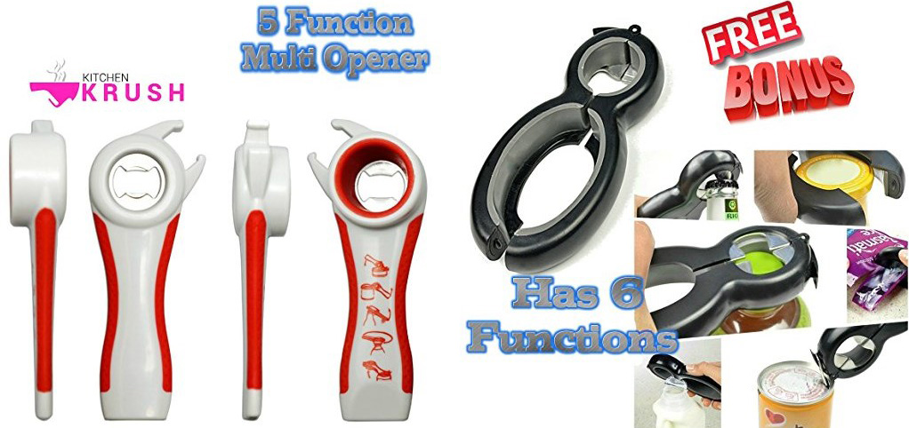 Kitchen Gadgets: multi-function can opener