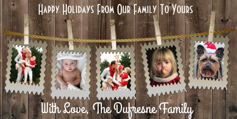 Year-In-Review Photo Christmas Cards Ideas craft-mart