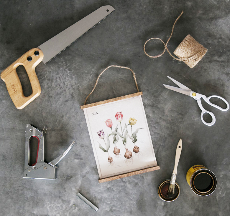 DIY projects farmhouse decor hanging printable tutorial Magnolia craft-mart