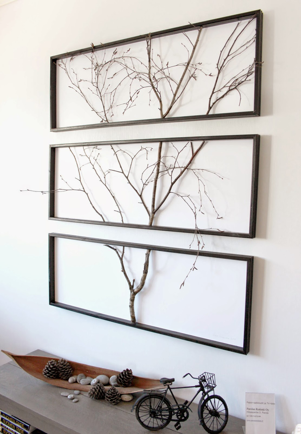 rustic wood branches wall decor craft-mart