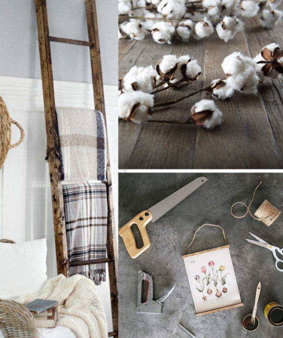 easy DIY projects farmhouse decor Tutorials