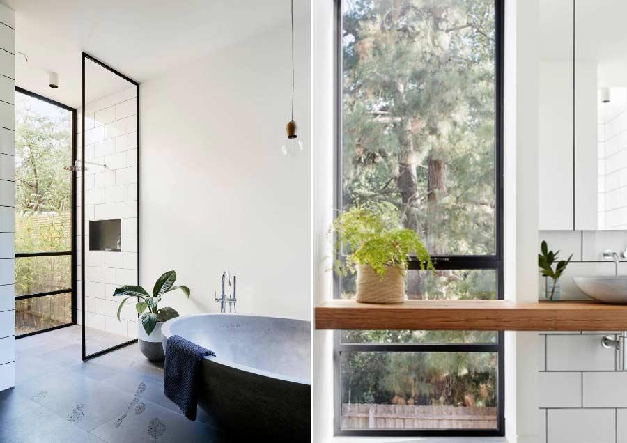 spa-like bathroom modern simplicity