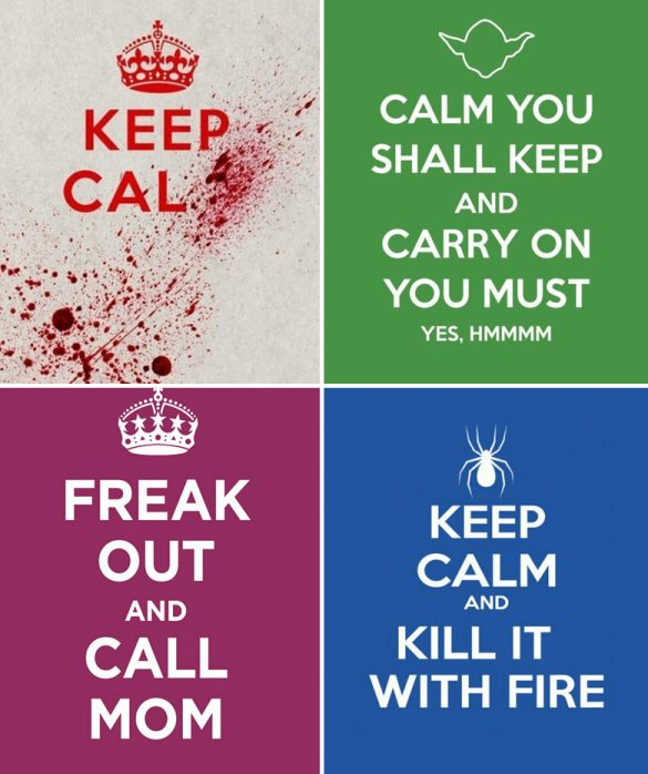 keep calm posters