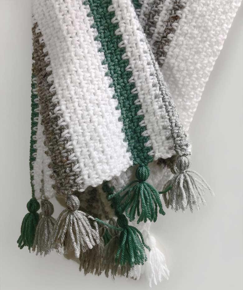 Easy To Crochet Baby Blanket Pattern Moss Stitch Craft