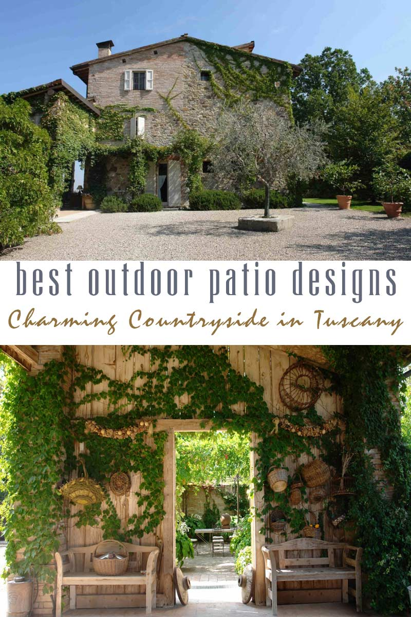 charming and rustic countryside best outdoor patio designs collection by craft-mart