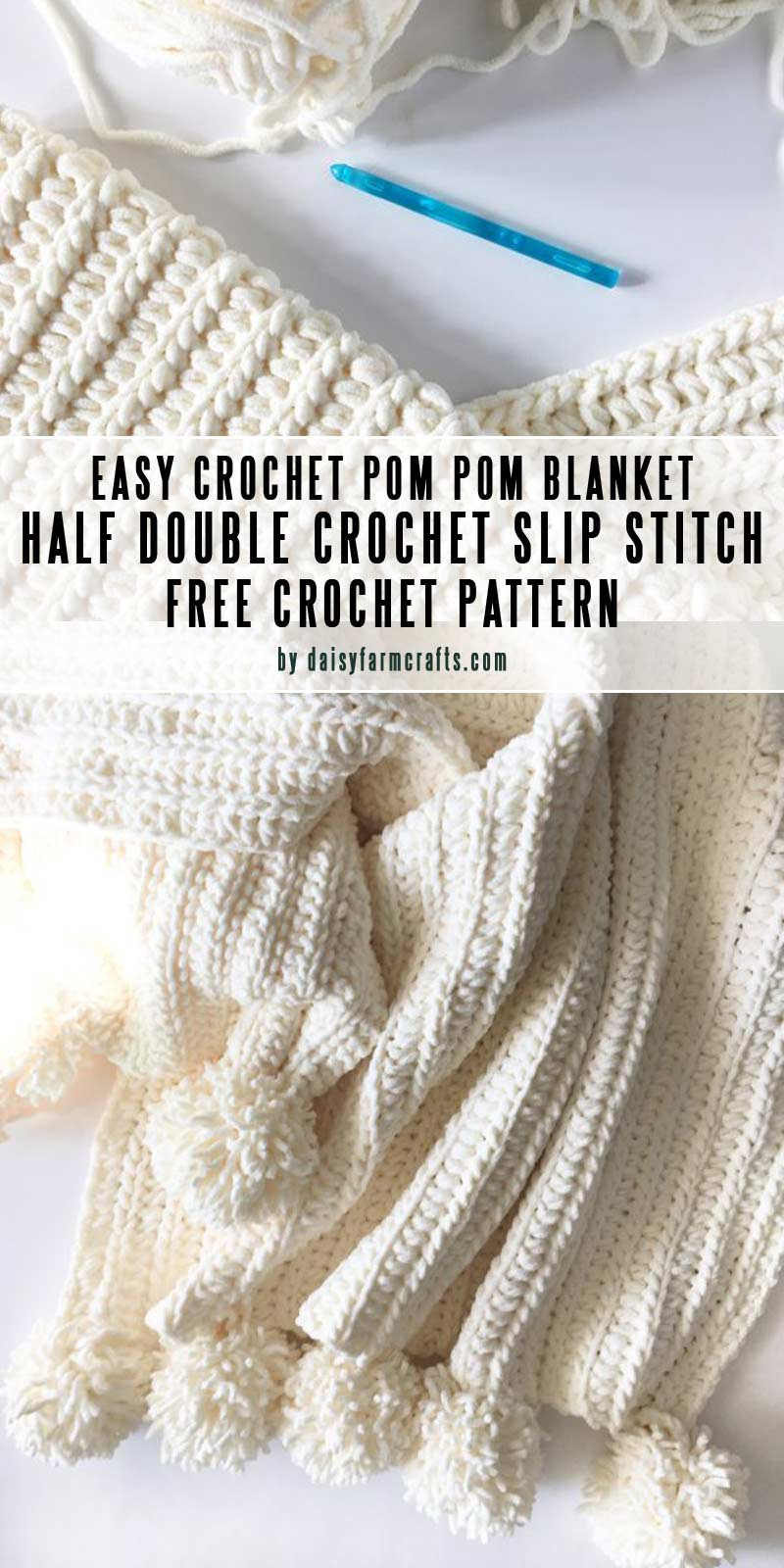 Easy DIY baby blankets you can crochet in a weekend-collection by craft-mart