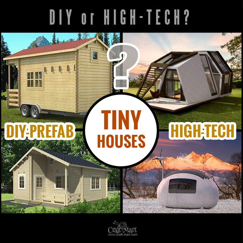 Look at these absolutely awesome prefab tiny houses that you can afford! Some are 100% sustainable and do NOT need any utilities besides internet! Some are DIY and you can request custom features from most of the tiny home builders.