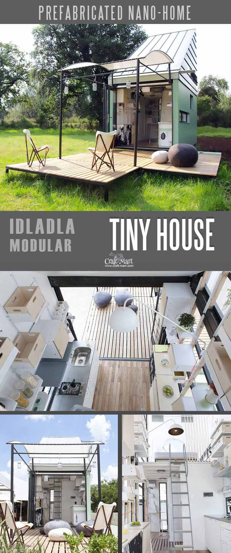 Modular tiny home that you can afford! 100% sustainable and does NOT need any utilities besides internet! You can add custom features from most of the tiny home builders. Keep dreaming on or take an action and get one of these little affordable homes!#tinyhouseplans #tinyhome #tinyhouses #diyproject #realestate #smallhouseplans