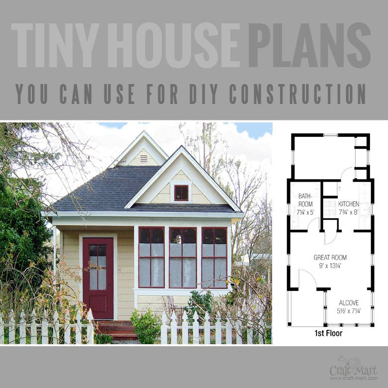 A Tiny House Floor Plan For Building Your Dream Home Without Spending A  Fortune. Your