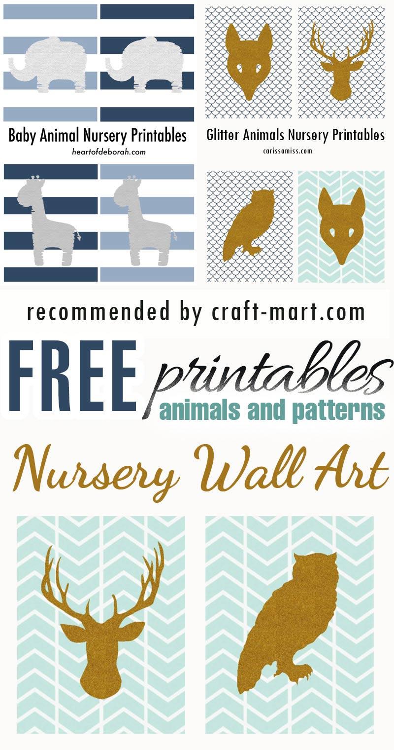 Patterns and Animals Modern Nursery FREE printables #freeprintables #freenurseryprints #freenurserywallart #cutenurseryprints #cuteanimalsfreeprintables #animalsfreenurseryprintables