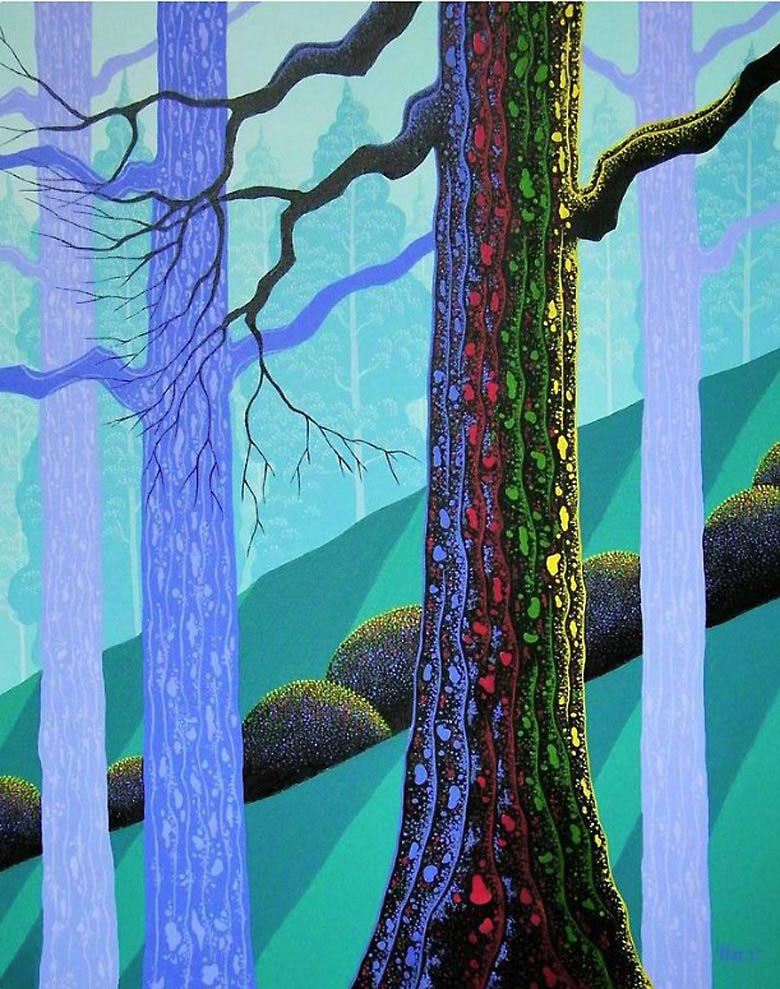 Looking for cool things to do with a blank canvas? Follow the steps of the great artists like Eyvind Earle.