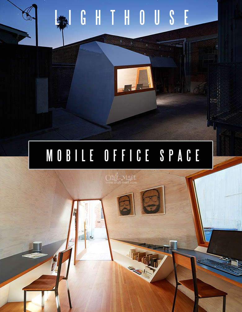 This is a Mobile Office Space made with Structural Insulated Panels. It has a few absolutely awesome advantages over the regular tiny houses. Can it be converted into a tiny house? Read to know...#tinyhouse #tinyhouseplans #minimalism