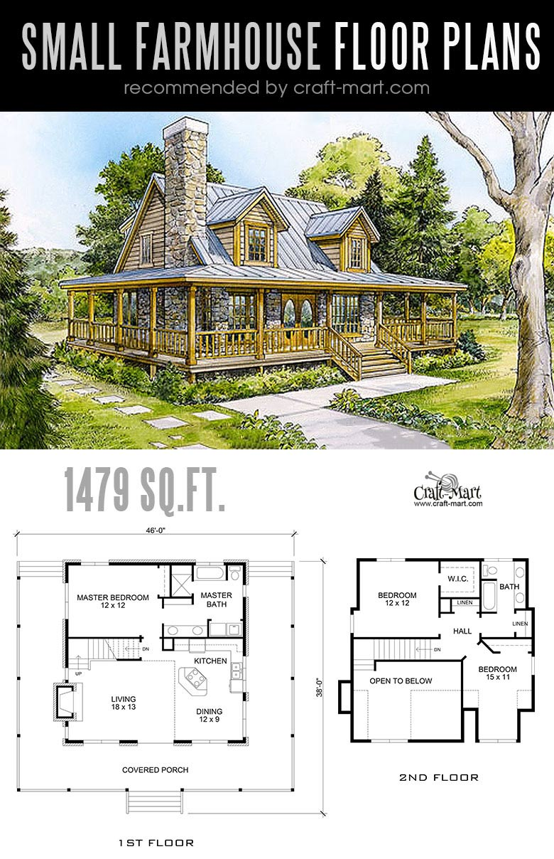 Designing and building a Romantic Small farmhouse can be a lot of fun! Look at the best small farmhouse plans that can fit almost any tight budget. Learn how you can design the best modern farmhouse and decorate it as a pro! #tinyhouse #farmhouse #rustic #diy