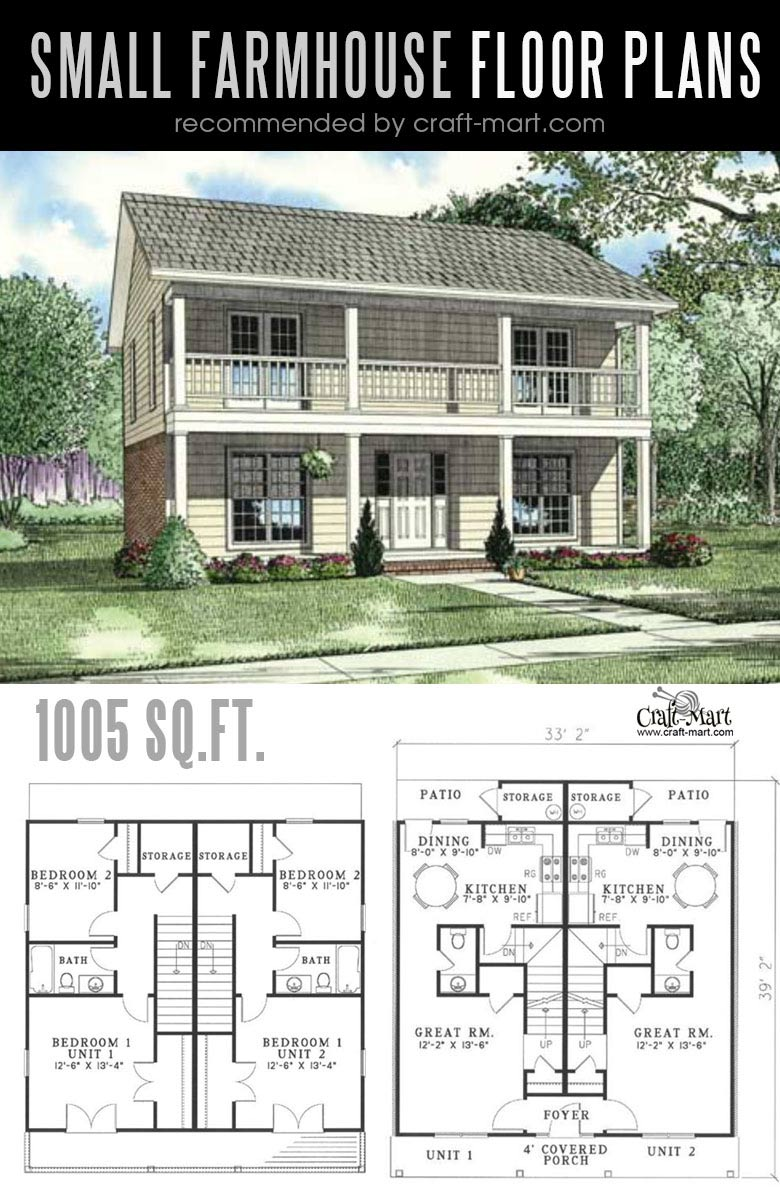 Designing and building a Southern Style farmhouse can be a lot of fun! Look at the best small farmhouse plans that can fit almost any tight budget. Learn how you can design the best modern farmhouse and decorate it as a pro! #tinyhouse #farmhouse #rustic #diy