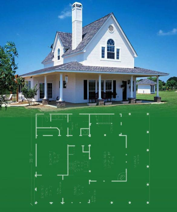 Simple Farmhouse Plans. Designing And Building A Farmhouse Can Be A Lot Of  Fun! Look At The Best
