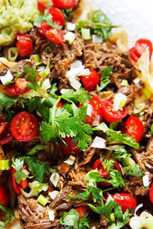 Slow Cooker Carne Asada - easy keto crockpot recipes - collection by craft-mart.com #easyketomeals #ketoslowcookerdinnerrecipes #ketocrockpotrecipes #ketodinnerrecipes #ketocarneasadarecipe