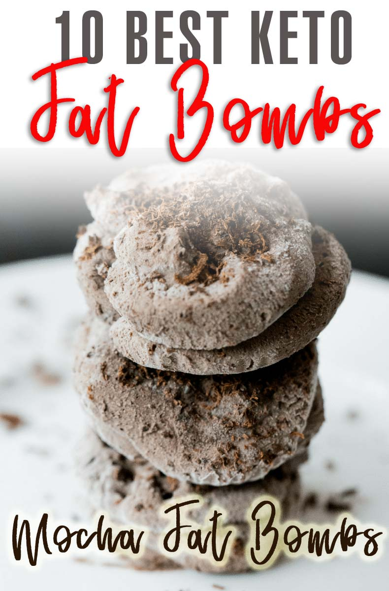 Ten Best Keto Fat Bombs (and ultimate collection of 55+ keto snacks) #ketofatbombs #ketodiet #easyfatbombrecipes #bestfatbombrecipes #highfatlowcarbsnacks #applepiefatbomb #lowcarbsnack #ketosnack #mochafatbomb