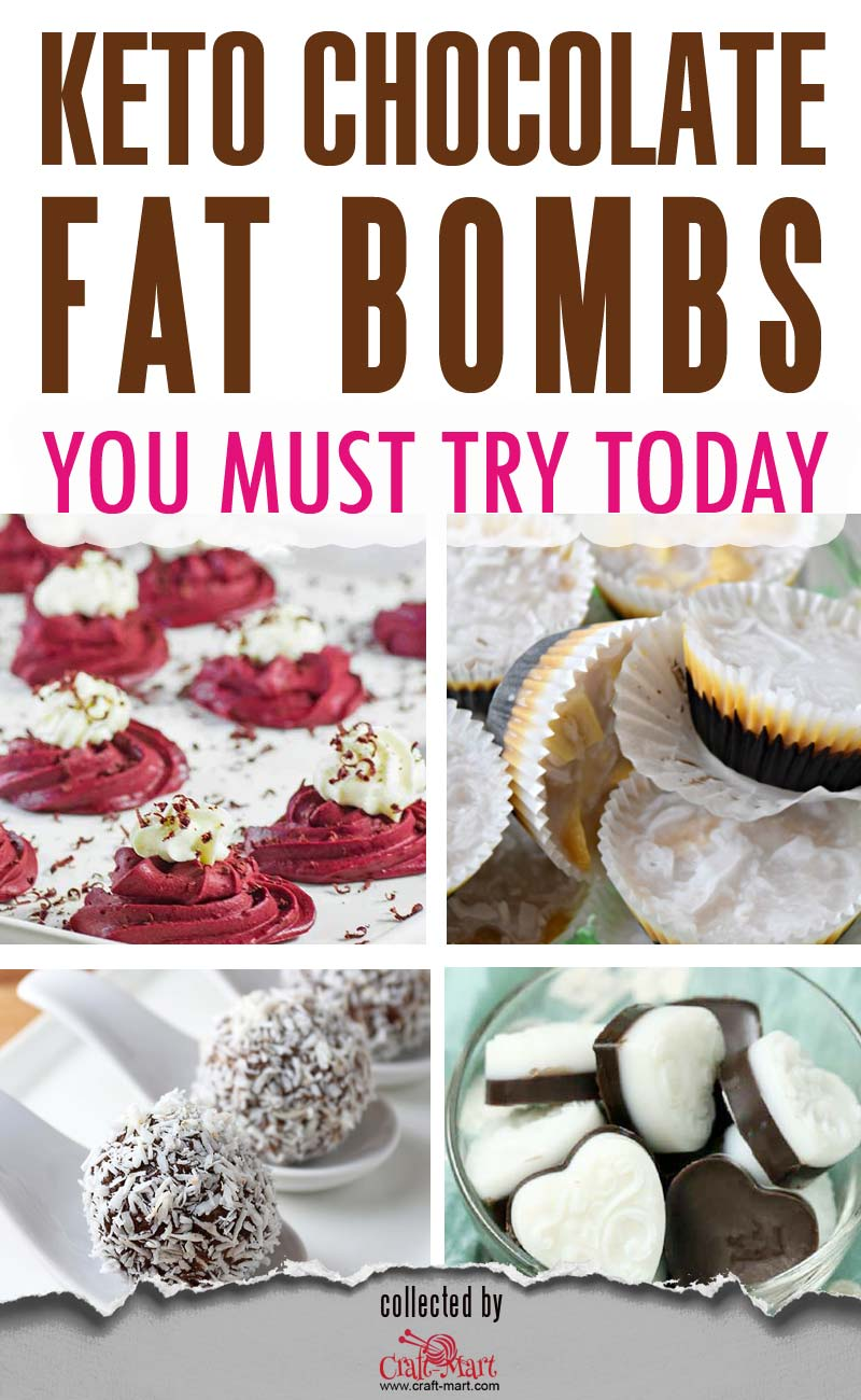Keto Chocolate Fat Bombs (and ultimate collection of 55+ keto snacks) #ketofatbombs #ketodiet #easyfatbombrecipes #bestfatbombrecipes #highfatlowcarbsnacks #lowcarbsnack #ketosnack #savoryketobomb #easiestsavoryfatbomb #ketochocolatefatbomb #darkchocolatefatbombs