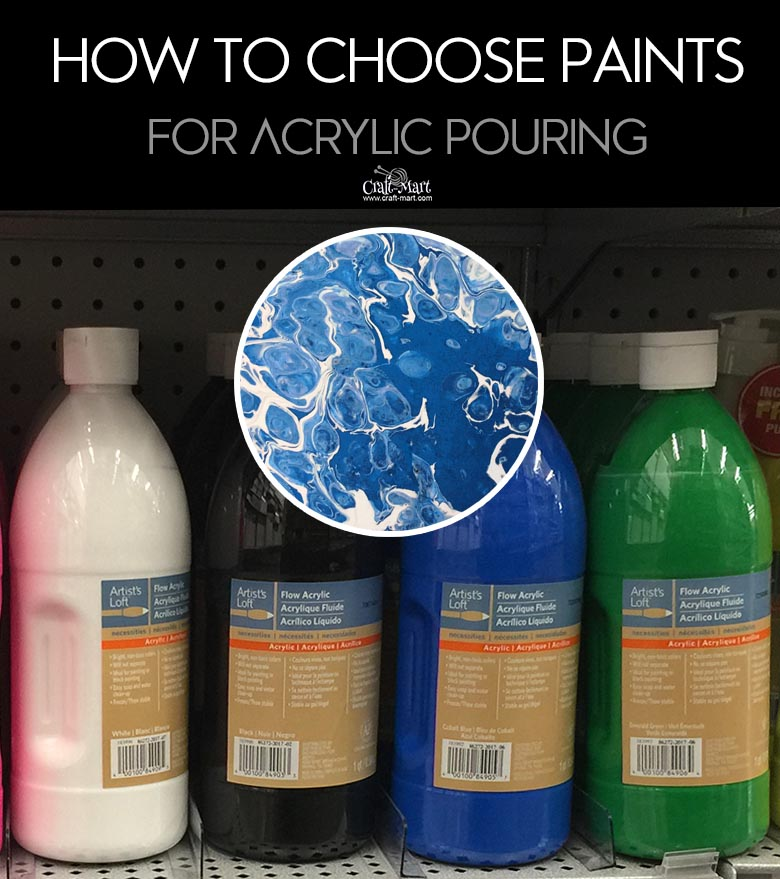 A list of the best acrylic paints You Need to Get Started With Acrylic Pour Painting. Acrylic pouring starter kit could be the best Christmas gift idea! Acrylic pouring is the new page coloring but more exciting! #acrylicpainting #wallart #diyhomedecor #painting