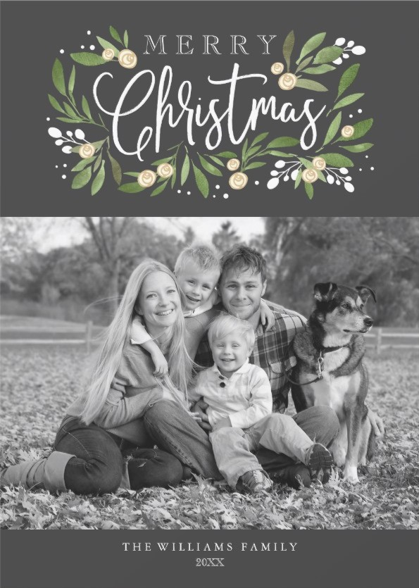 Family Portrait Photos - Christmas Cards Ideas to Cheer Up your Family and Friends