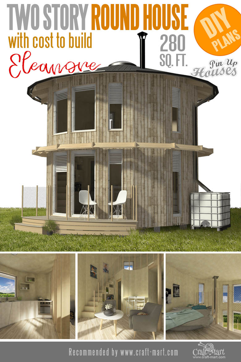 Awesome Small and Tiny Home Plans for Low DIY Budget - Craft-Mart