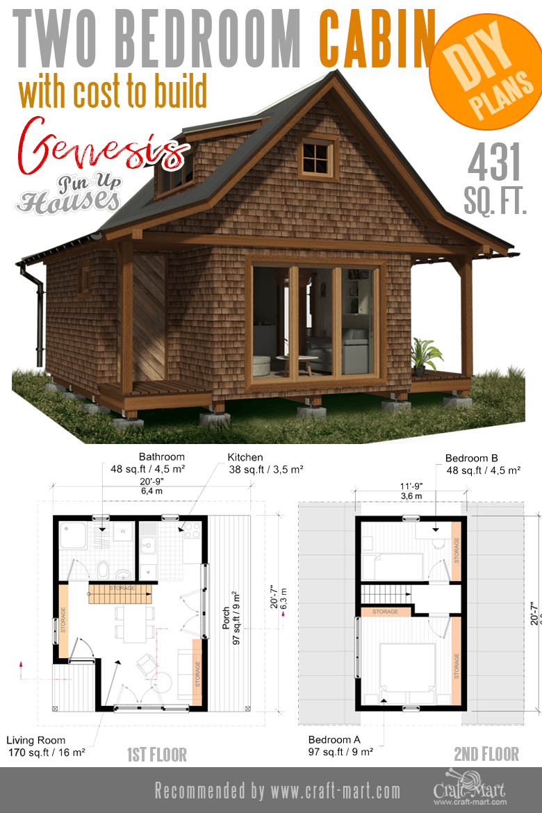 Awesome Small Home Plans for Low DIY Budget - Craft-Mart
