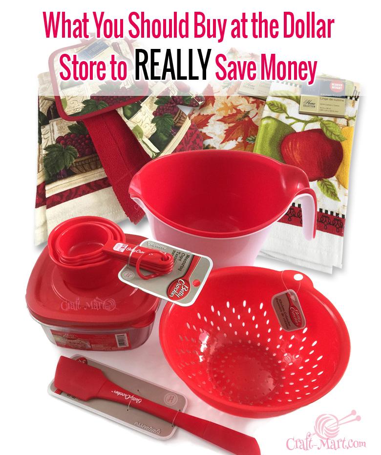 Dollar store savings