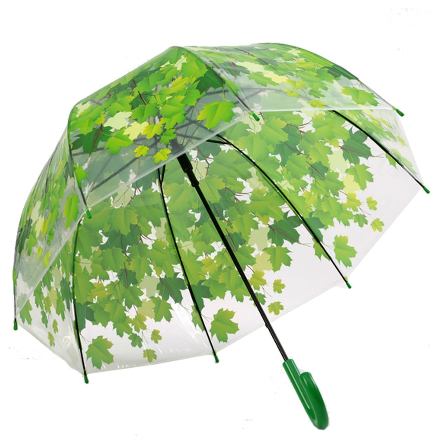 Green Leaf Canopy Umbrella