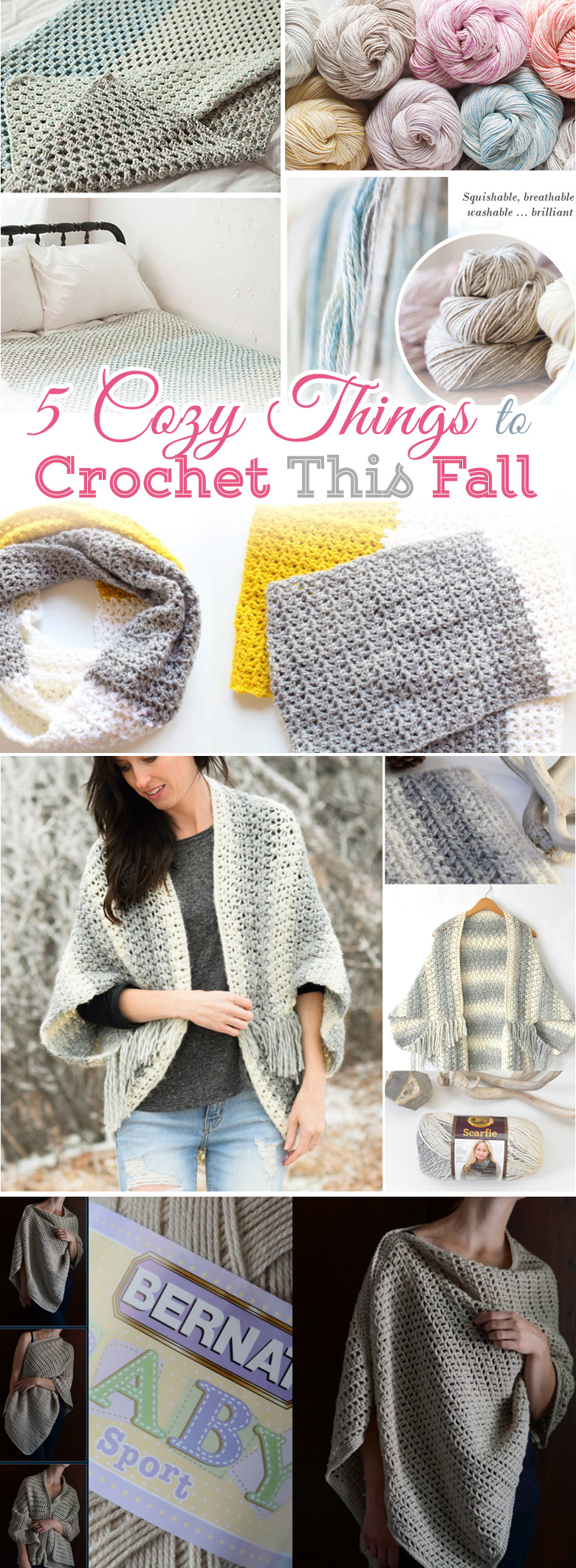 5 Cozy Things To Crochet Free Patterns For Beginners Craft Mart