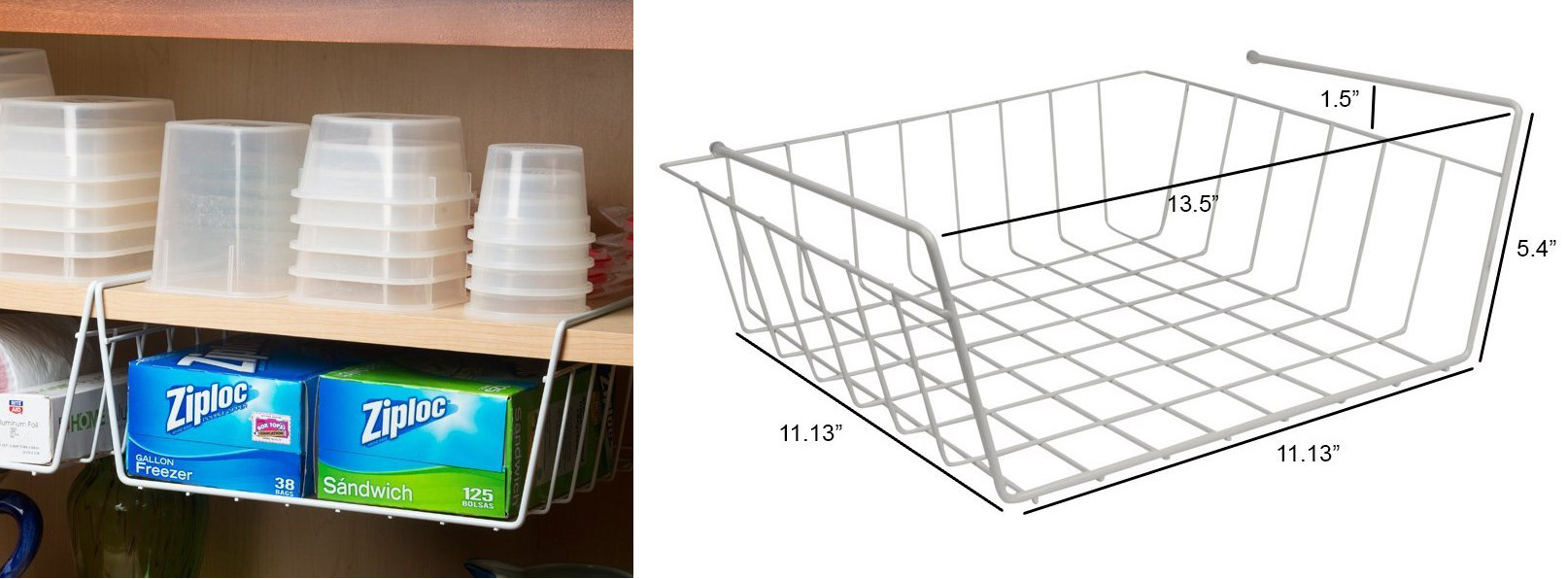 basket wire rack