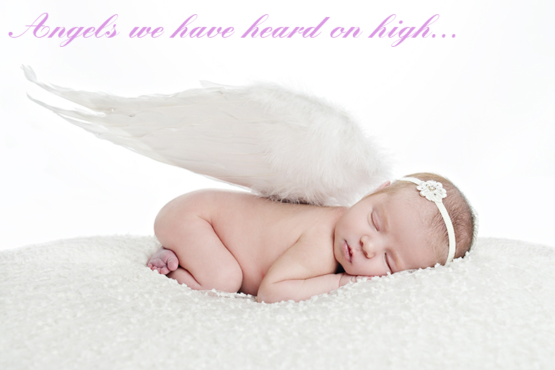 Angels we have heard on high... most creative and funny Christmas photos craft-mart