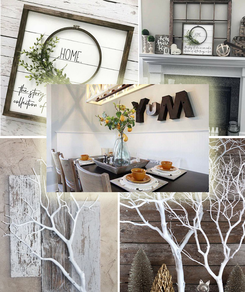 Rustic Decor Ideas Diy: 18 Rustic Wall Art & Decor Ideas That Will Transform Your