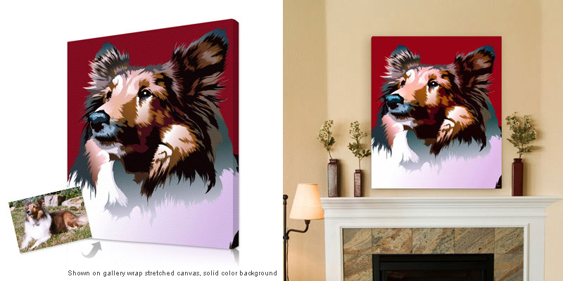 dog-canvas-print
