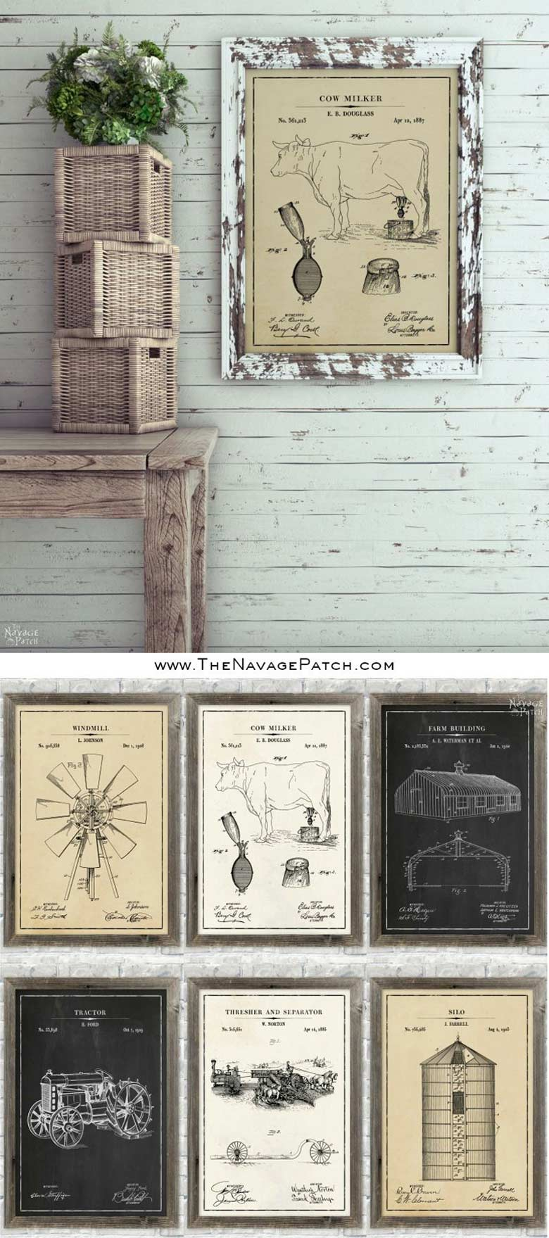 Free Farmhouse Printables collection for home decoration #freeprintables
