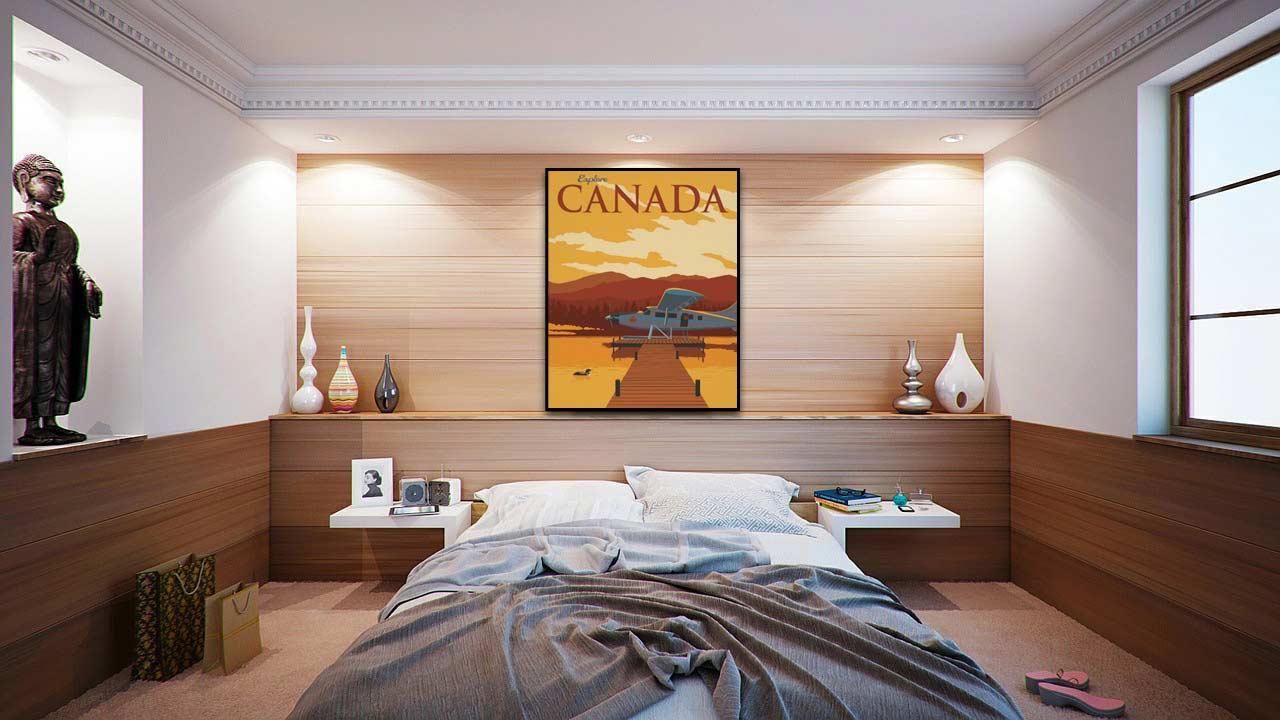 explore canada poster