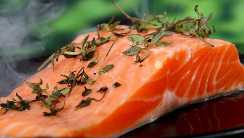 Fatty fish such as salmon has anti-inflammatory oils