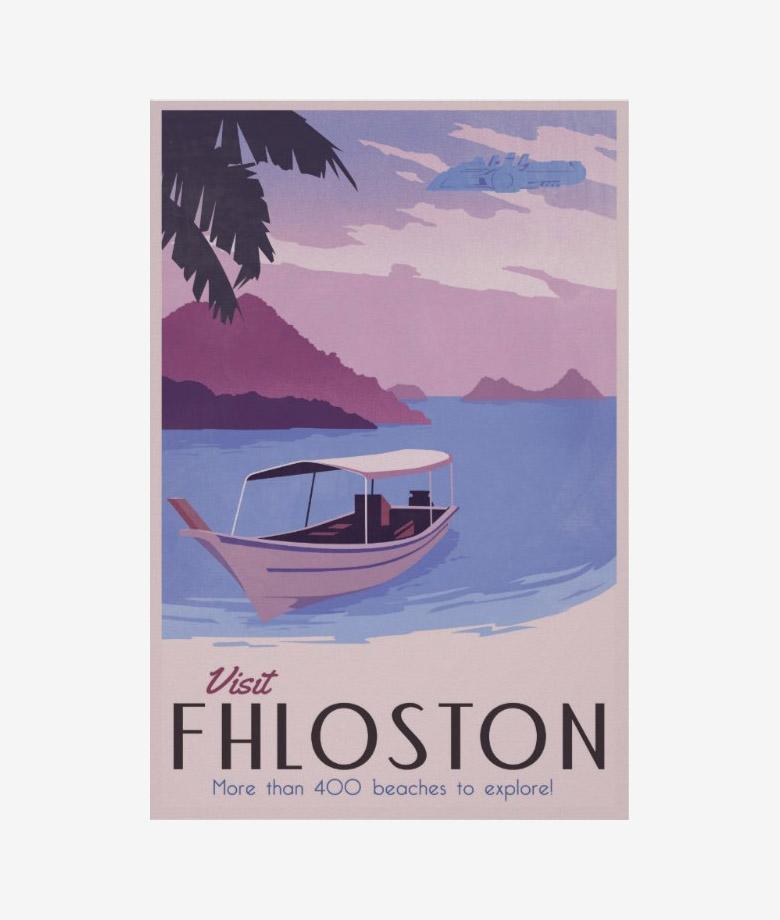 visit fhloston poster