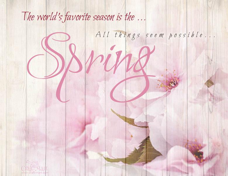 spring saying free printable