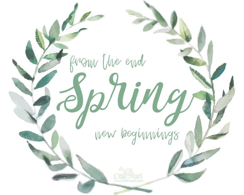 free spring printable download