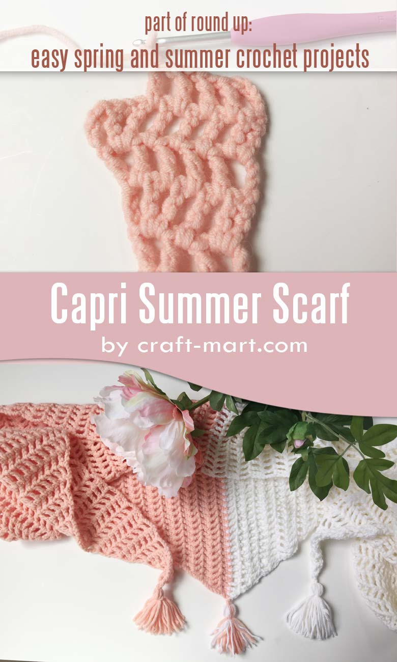 Easy Crochet Projects for Spring and Summer - Craft-Mart