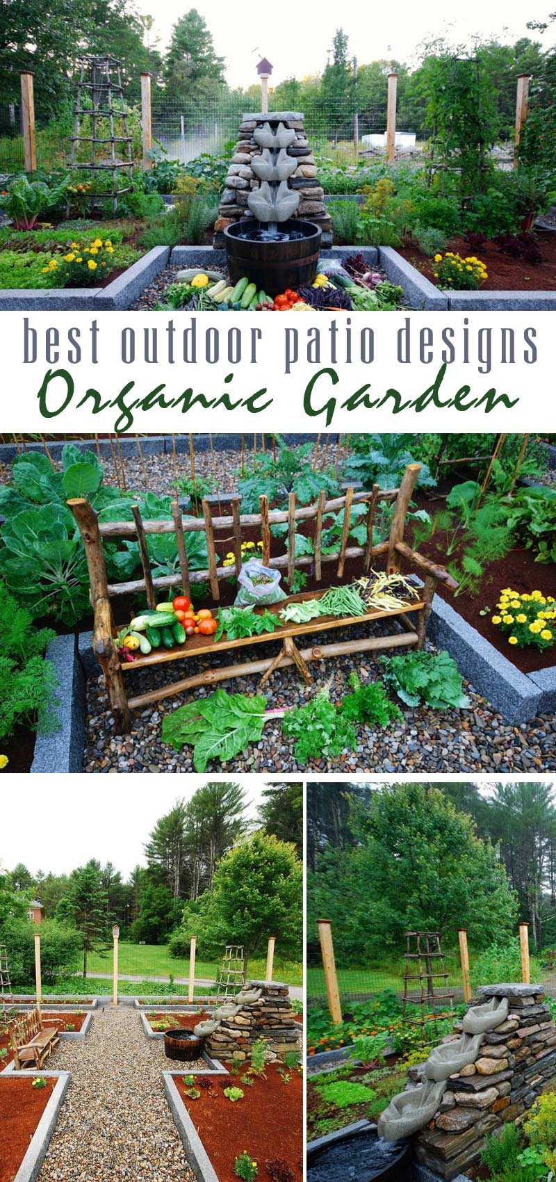 bio-dynamic garden - best outdoor patio designs by craft-mart