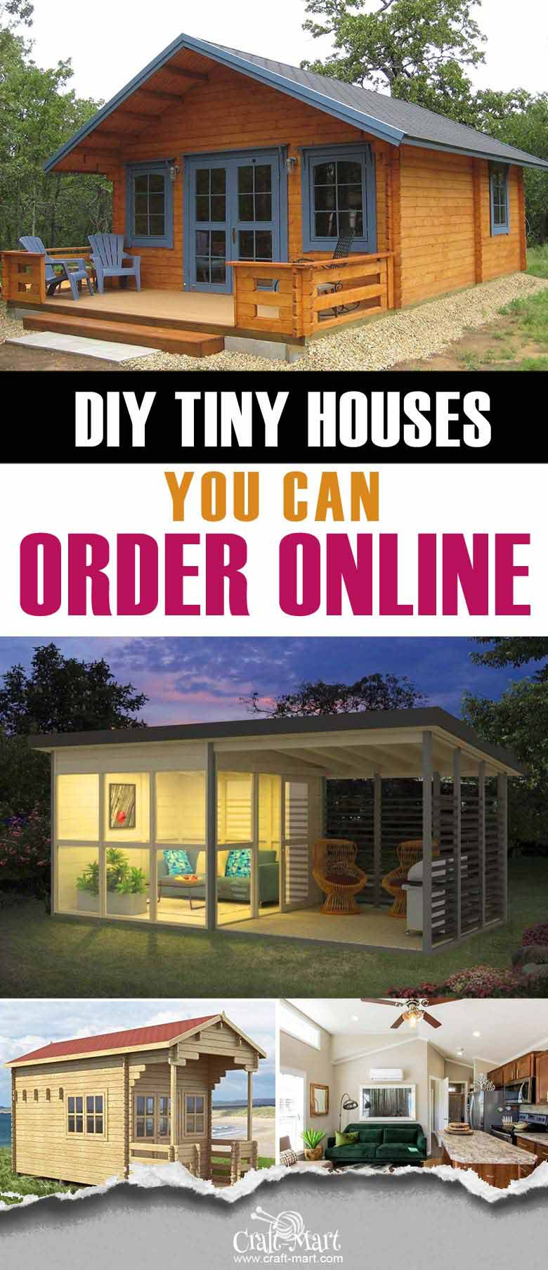 Affordable prefab tiny house kits that you can order online