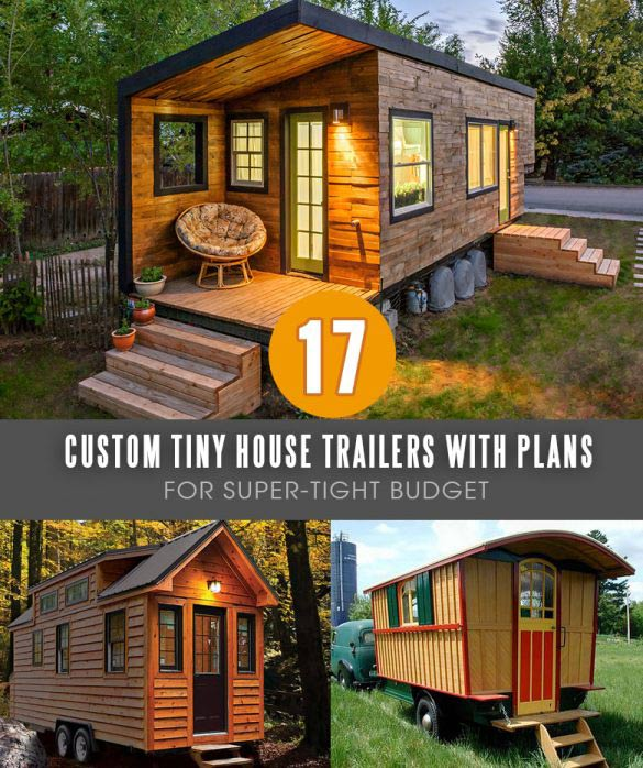 Get mobile tiny house plans and learn how to build a home of your dreams for a fraction of the traditional house cost!