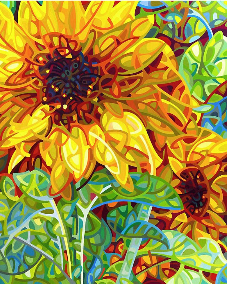 Looking for cool things to do with a blank canvas? Sunflowers glowing with joyful summer light frequently are among the most popular easy painting ideas