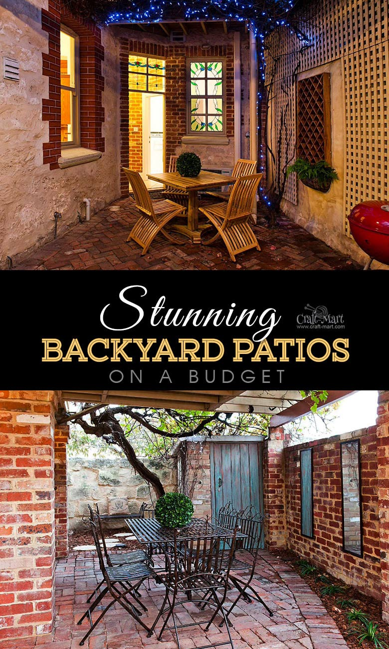 Charming small patio lighting solutions. One of the best backyard patio designs with outdoor ceiling lights that may help with your own patio ideas or outdoor landscape lighting. Perfect for small backyard patio. #outdoorspace #outdoordecor #outdoorspaces #patiodecor #patio